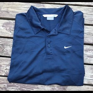 Early 2000's Nike Embroidered Polo T-Shirt (XL)